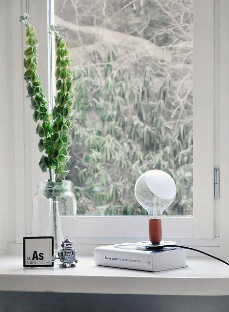 lampadina flos : flos lampadina di flos lampada da tavolo a luce diretta diffusa base ...