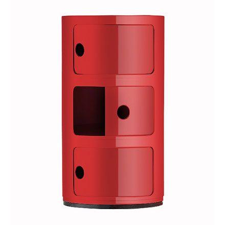 kartell componibili 3 elements. Black Bedroom Furniture Sets. Home Design Ideas