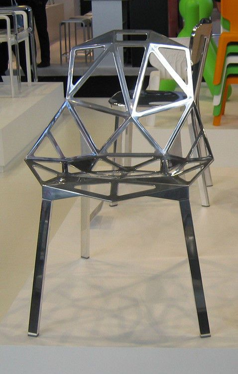 magis chair one 3 aluminium. Black Bedroom Furniture Sets. Home Design Ideas