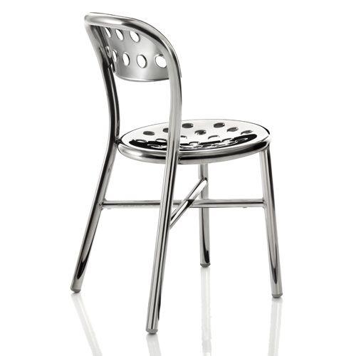 Sedie In Alluminio Per Cucina.Sedia Magis Pipe Alluminio
