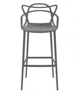 Kartell - Masters N.4 Chairs Black and White