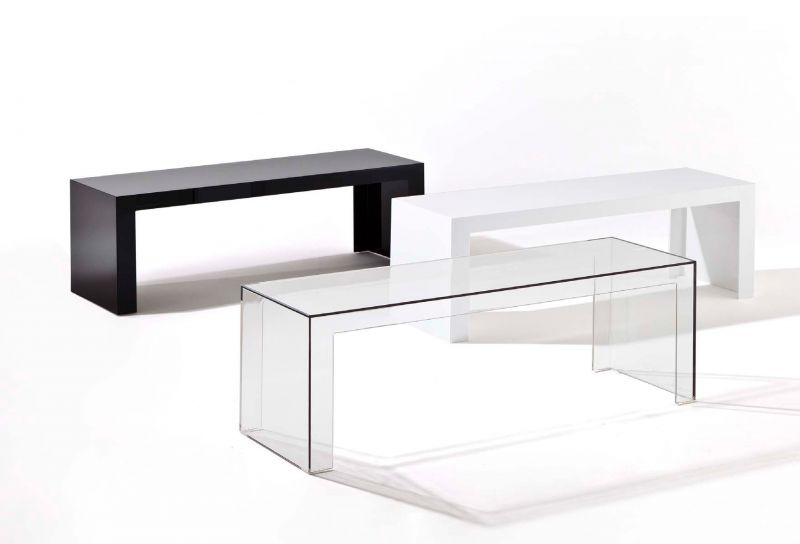 Kartell invisible table h.40cm