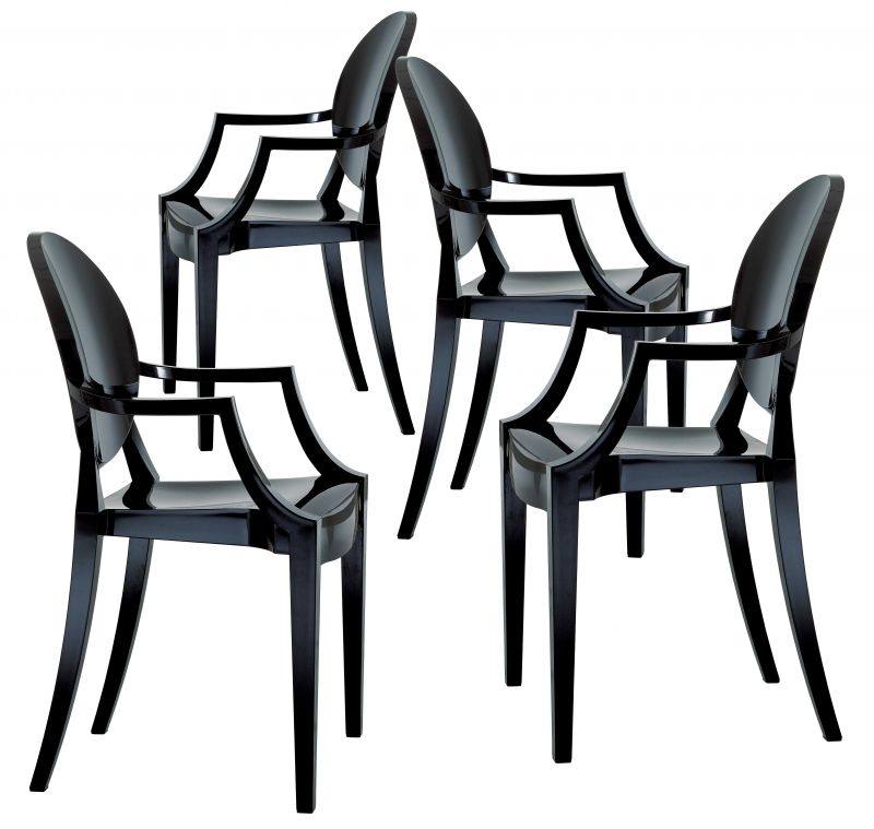 kartell n 4 louis ghost. Black Bedroom Furniture Sets. Home Design Ideas