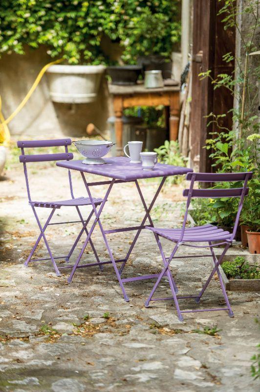 Emu arc en ciel due sedie e un tavolo - Mobili da giardino low cost ...
