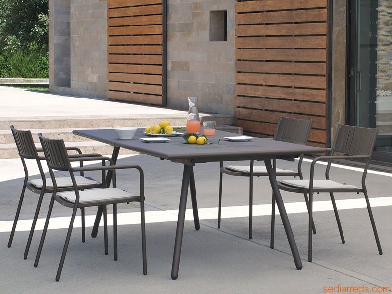 Emu tavolo bridge rettangolare allungabile for Emu arredi per esterni