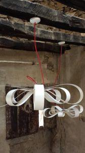Bertoni Lab - Butterfly lampe suspension