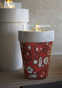 Maison Fire - Fuochino Pop Art