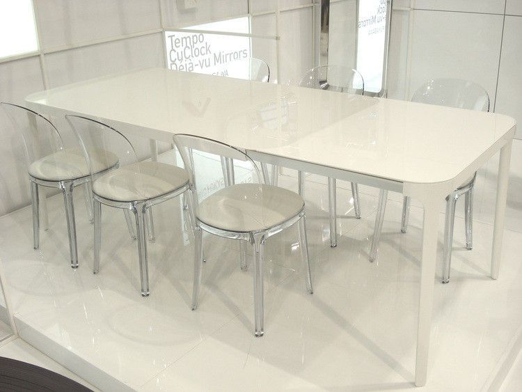 Magis vanity chair structure transparente - Table a manger transparente ...