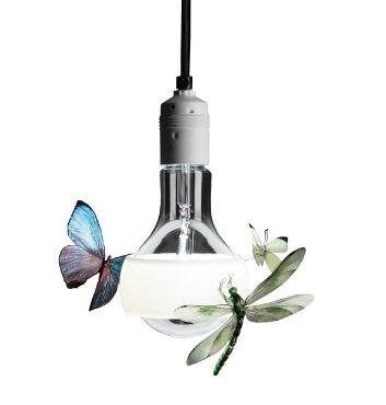 Ingo maurer johnny b butterfly for Ingo maurer lampade